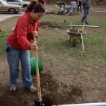 Digging 2 foot holes